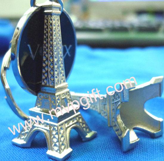 eiffel tower metal keychains m mk05 mvpgift factory of metal key chain car. Black Bedroom Furniture Sets. Home Design Ideas